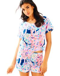 Lilly Pulitzer - Dossie Top And Short Set - Lyst