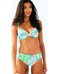 Lilly Pulitzer - Lagoon Sarong Bikini Bottom - Lyst