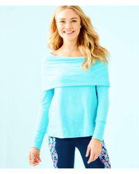 Lilly Pulitzer - Belinda Off The Shoulder Pullover - Lyst
