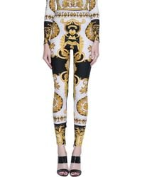Versace - Zipped Tights - Lyst