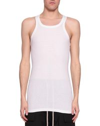 DRKSHDW by Rick Owens - Cotton Tank Top - Lyst
