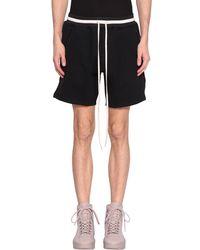 Fear Of God - Cotton Shorts - Lyst
