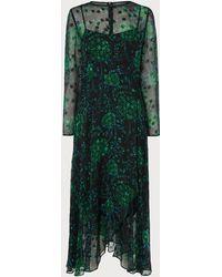 L.K.Bennett - Roe Green Dress - Lyst