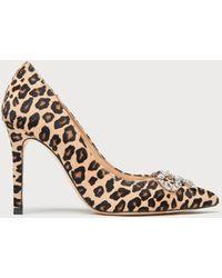 L.K.Bennett - Fern Leopard Heels - Lyst