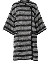 L.K.Bennett - Sammy Tweed Cotton Mix Coats - Lyst
