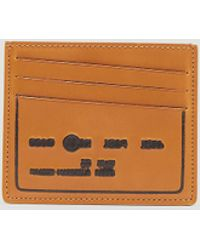 Maison Margiela - Embossed Leather Card Holder - Lyst