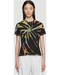 Collina Strada - Log Out Tie-dye T-shirt In Black - Lyst