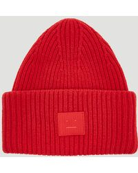 Acne Studios - Pansy Face Hat In Red - Lyst
