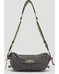 Marni - Nylon Cross Body Bag In Grey - Lyst