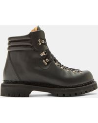 dDuyQFhaI3 Leather Trekker Ankle Boots UUqyRF
