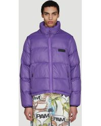 Pam - Synthesis Padded Jacket In Purple - Lyst