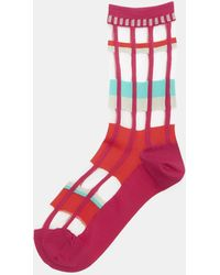 Issey Miyake | Sheer Flow Socks In Pink | Lyst