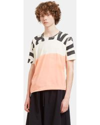 Anntian - Men's Edgy Printed T-shirt In Off-white - Lyst