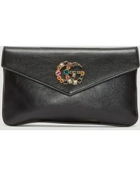 Gucci - Broadway Clutch Bag In Black - Lyst