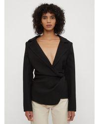 Jacquemus - La Vesta Baija Jacket In Black - Lyst