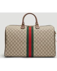 815e25eb738a Gucci - Ophidia GG Medium Carry-on Duffle Bag In Beige - Lyst
