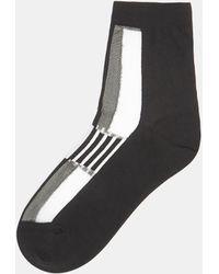 Issey Miyake | Colour Block Socks In White | Lyst