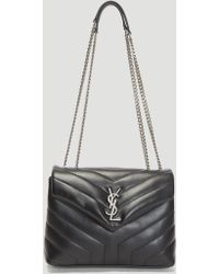 Saint Laurent Lou Camera Bag In Black in Black - Lyst 46876fb02dbc6