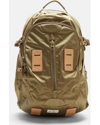 F/CE - Satin Travel Backpack In Khaki - Lyst
