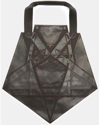 132 5. Issey Miyake - Standard 4 Origami Tote Bag In Black - Lyst