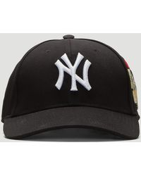 31b801bc Gucci Baseball Cap With Ny Yankeestm Patch in Blue for Men - Lyst
