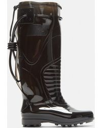Raf Simons - Future Wellington Boots In Black - Lyst