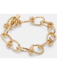 Lauren Klassen - Women's Barbed Wire Link Bracelet In Gold - Lyst