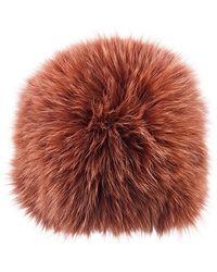 Loeffler Randall - Fox Fur Tall Hat - Lyst