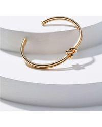 LOFT - Knot Cuff Bracelet - Lyst