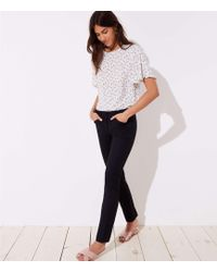 LOFT - Straight Leg Pants In Marisa Fit - Lyst