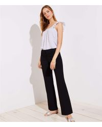 LOFT - Petite Trousers In Custom Stretch In Julie Fit - Lyst