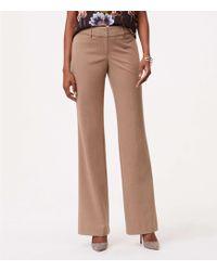 "LOFT - Trousers In Custom Stretch In Julie Fit With 31"" Inseam - Lyst"