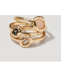 LOFT - Cosmic Stone Ring Set - Lyst