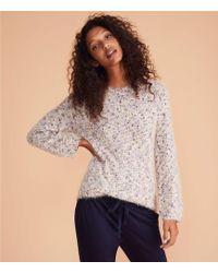 LOFT - Lou & Grey Flurry Sweater - Lyst