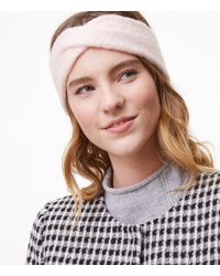 LOFT - Twist Ear Warmer - Lyst