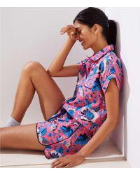 LOFT - Butterfly Garden Pyjama Set - Lyst
