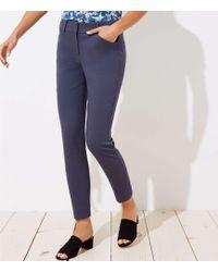 LOFT - Skinny Ankle Pants In Julie Fit - Lyst