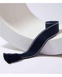 LOFT - Stitched Tassel Belt - Lyst