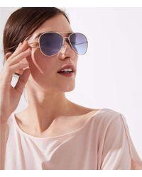LOFT - Aviator Sunglasses - Lyst