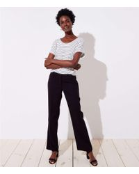 LOFT - Trousers In Twill In Marisa Fit - Lyst