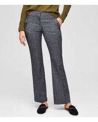 LOFT - Petite Trousers In Button Pocket In Julie Fit - Lyst
