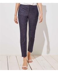 LOFT - Petite Slim Custom Stretch Pants In Julie Fit - Lyst