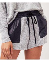 LOFT - Lou & Grey Form Marled Shorts - Anytime - Lyst