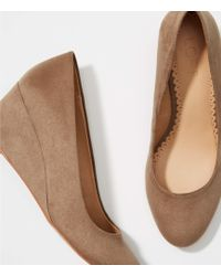 LOFT - Wedge Pumps - Lyst