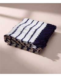 LOFT - Lou & Grey Striped Cable Scarf - Lyst
