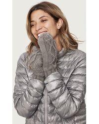 Lolë - Chunky Knitwear Mittens - Lyst
