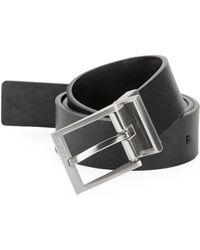 Calvin Klein - Reversible Leather Belt - Lyst