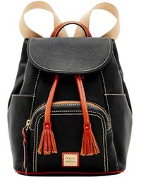 Dooney & Bourke - Pebble Grain Leather Medium Murohy Backpack - Lyst