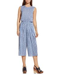 Two By Vince Camuto - Feathery Trail Culottes Jumpsuit - Lyst