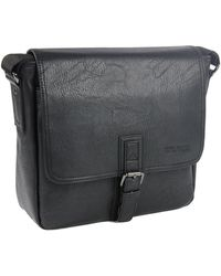 Kenneth Cole Reaction - Graham Canvas Messenger Bag - Lyst